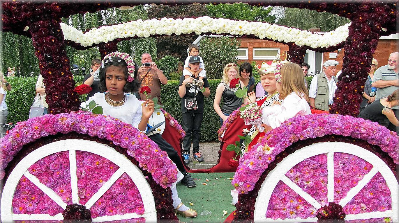 Wiesmoor die Perle Ostfrieslands - Blumenfest in Wiesmoor 2011!