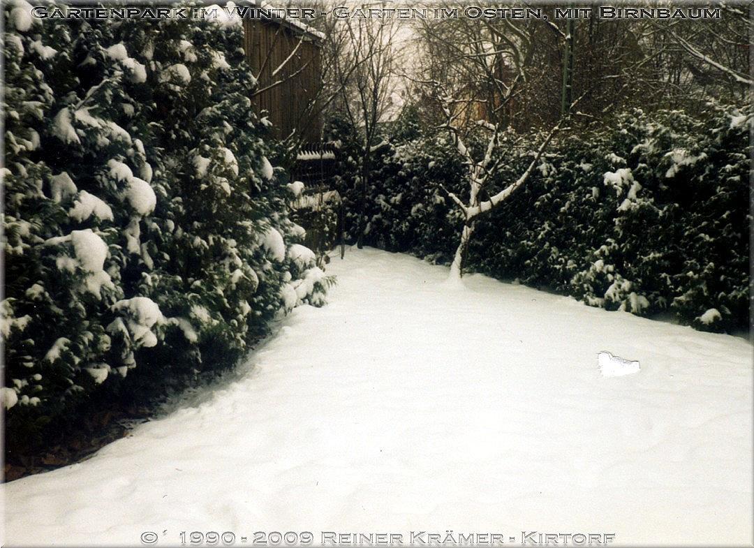 winterliche Episoden im Gartenpark - legen Sie sich einen schöneren Garten an, es lohnt sich!